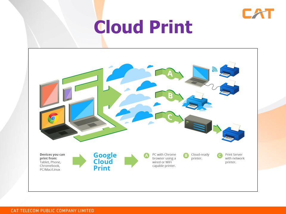 การใช้โปรแกรม PrintShare บน Android พิมพ์งานเอกสารไปยัง เครื่องพิมพ์ผ่าน Google Cloud Print