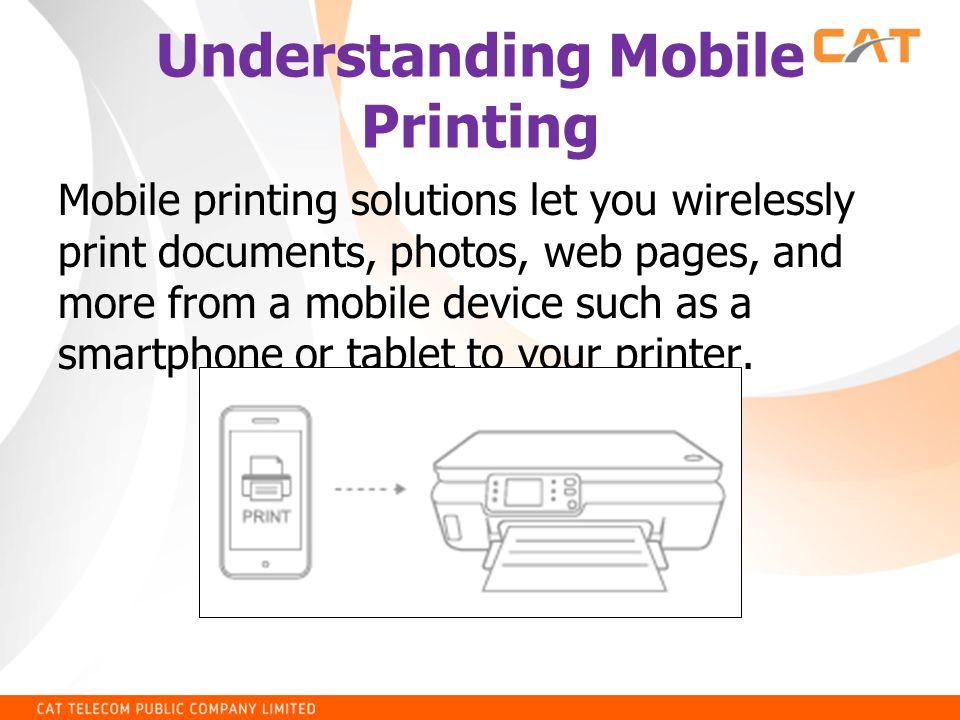 การ Add Printer บน HP ePrint
