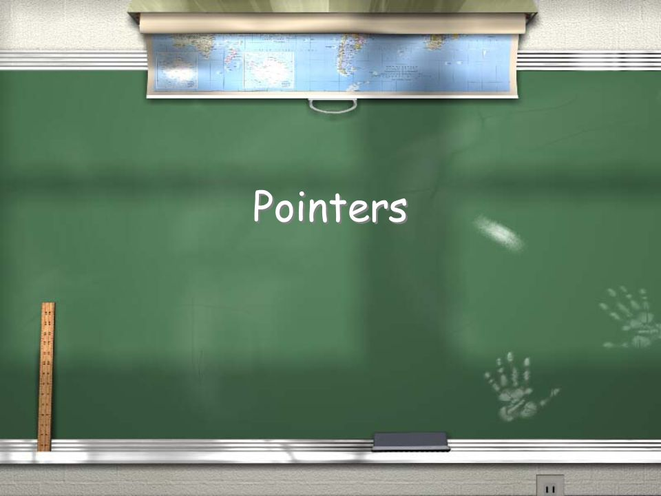 Why have pointers.