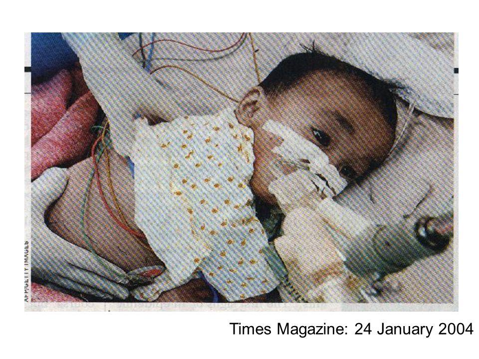 Times Magazine: 24 January 2004