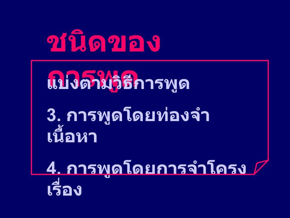 บุคลิกภาพที่ดี 4. การใช้สายตา 5. การเดิน / ยืน / นั่ง 6. การแต่งกาย