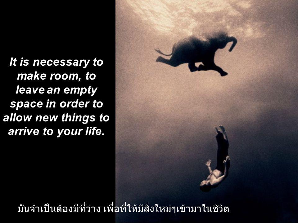 Don't do it! You are going against your prosperity! อย่าทำอย่างนั้น ! คุณกำลังเดินสวนทางกับความเจริญงอกงาม