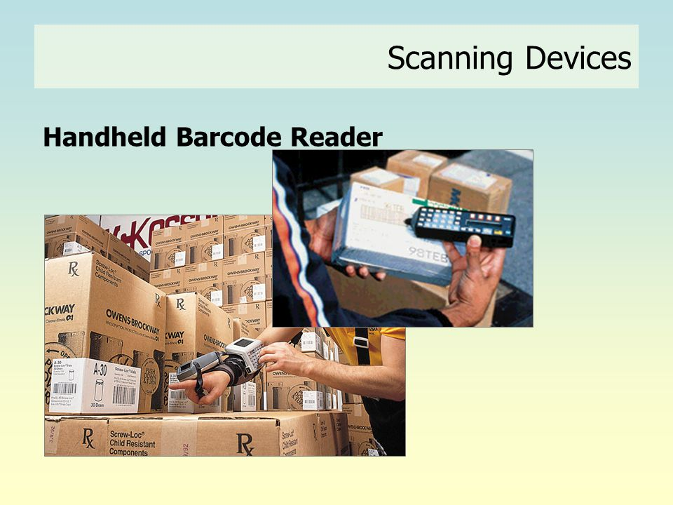 Handheld Barcode Reader Scanning Devices