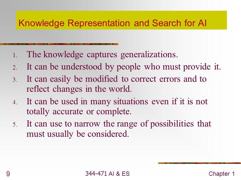 344-471 AI & ESChapter 1 20 Homework 1 (2%) 1.