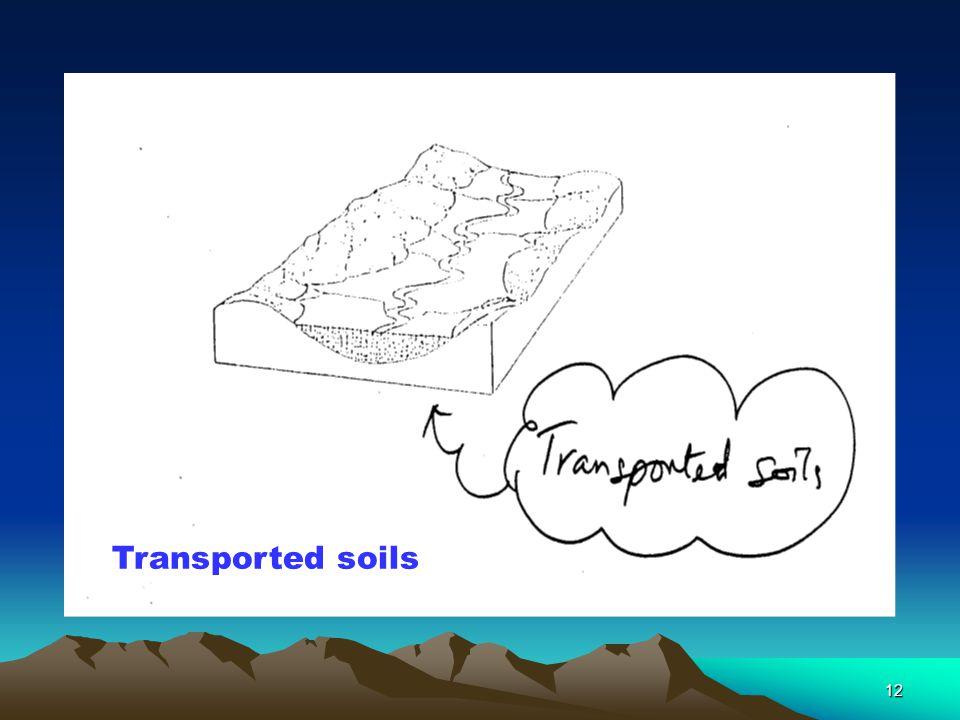 11 Residual soils in Limestone terrain.