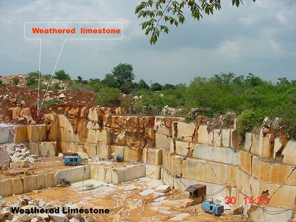 16 Weathered siltstone/shale