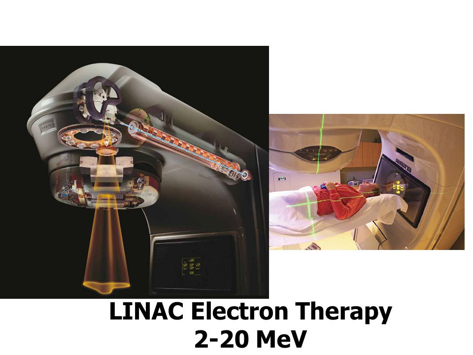 LINAC Electron Therapy 2-20 MeV