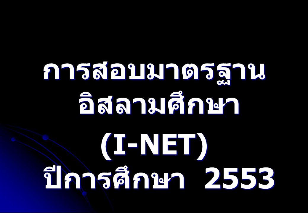 ความเป็นมาของการสอบ I- NET เกิดจากความร่วมมือกันระหว่าง   สถาบันทดสอบทางการศึกษาแห่งชาติ ( องค์การ มหาชน ) ( สทศ.)   สำนักบริหารยุทธศาสตร์และบูรณา