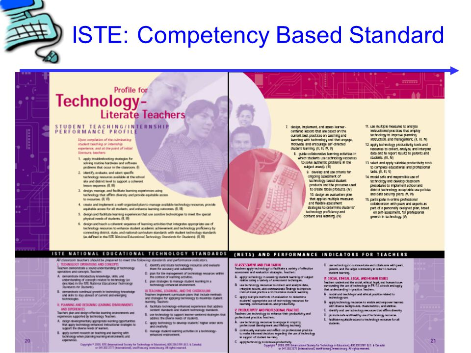 ISTE: Competency Based Standard