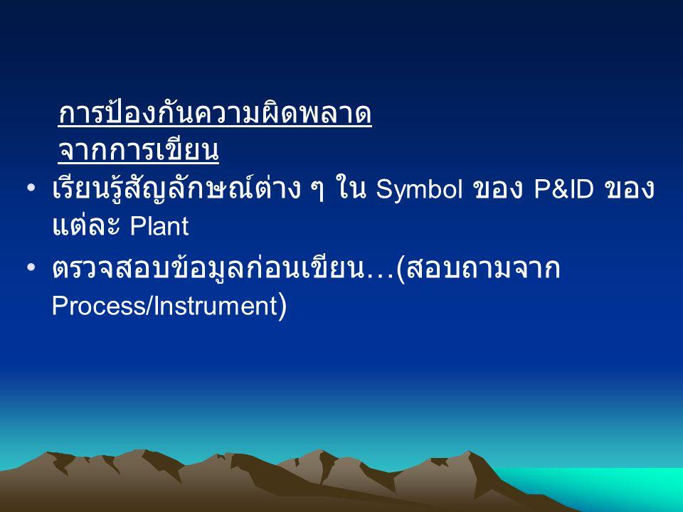 BASIC INSTRUMENTATION & DCS SYMB OL DESCRIPTIONITEM CONNECTION TO PROCESS 1 4 ELECTRIC SIGNAL UNDIFINED SIGNAL 2 3 PNEUMATIC SIGNAL