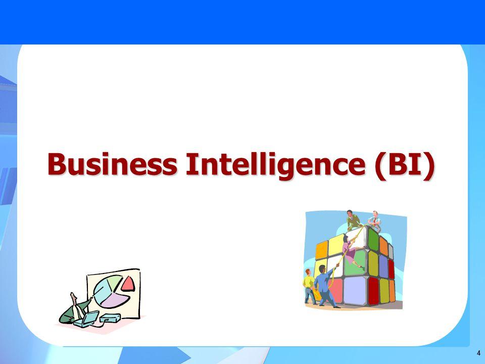 4 Business Intelligence (BI)
