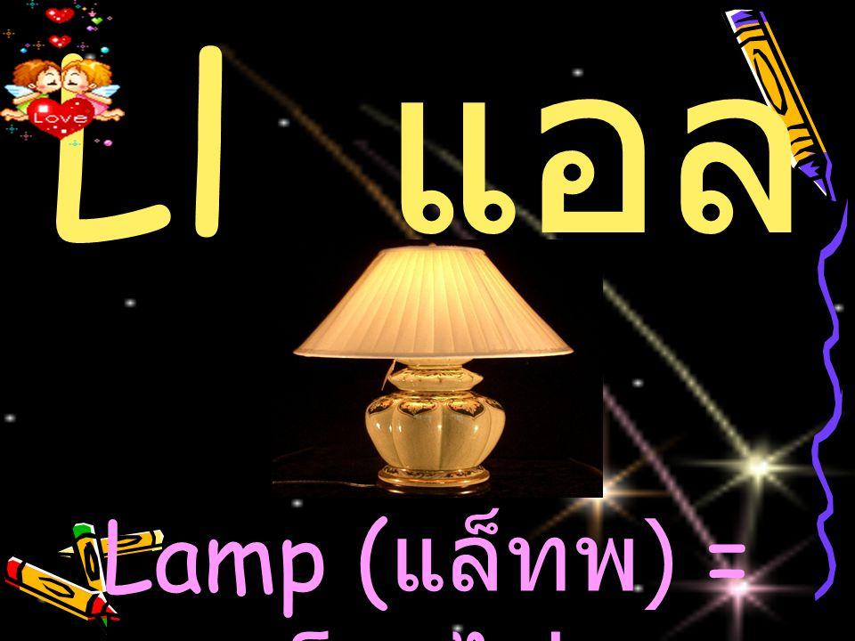 Ll แ อล Lamp ( แล็ทพ ) = โคมไฟ
