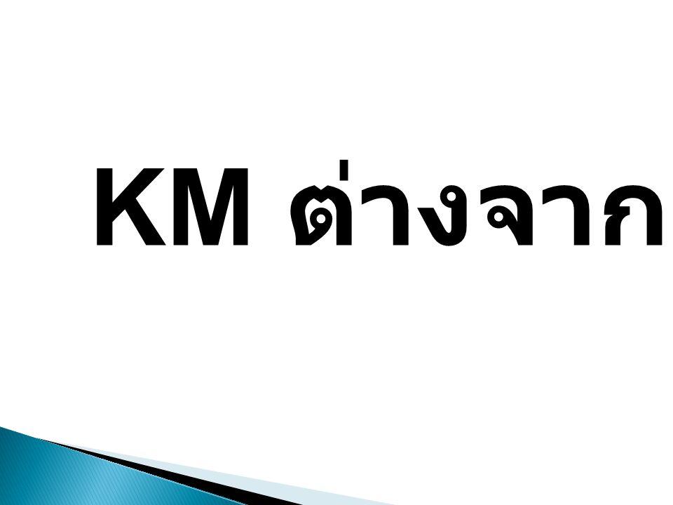 KM ต่างจาก MK ?