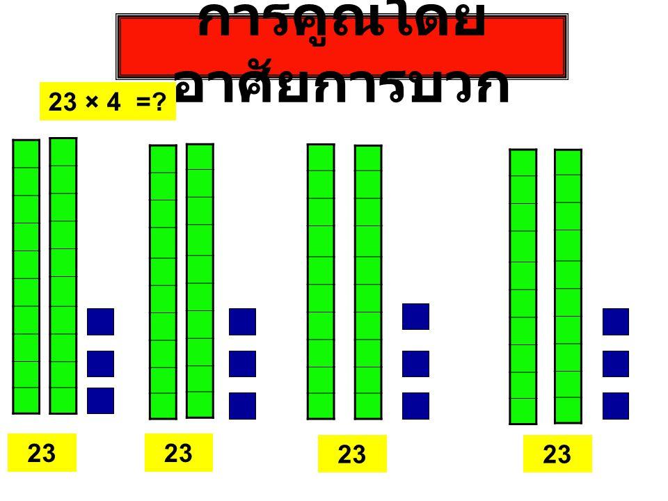การคูณในกรณีที่มีการทดและใช้ เส้นตัด 42 ⅹ 46 1616 3232 1212
