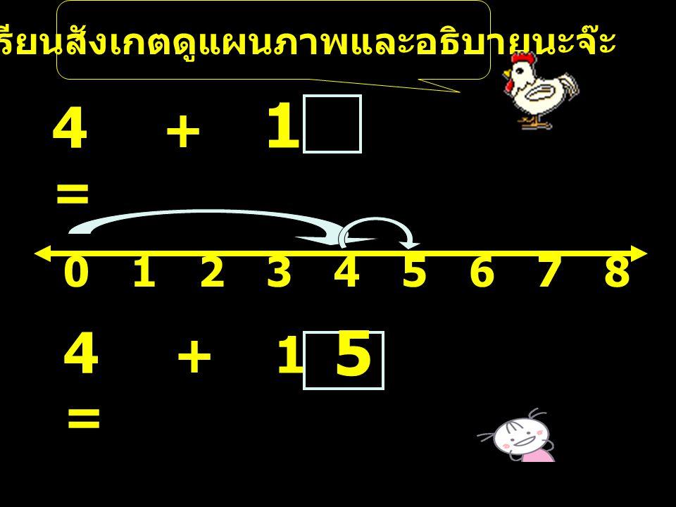 ตารางค่าความจริงของการบวกที่มี ผลบวกไม่เกิน 5 + 0 1 2 3 4 5 0 0 1 2 3 4 5 1 1 2 3 4 5 2 2 3 4 5 3 3 4 5 4 4 5 5 5