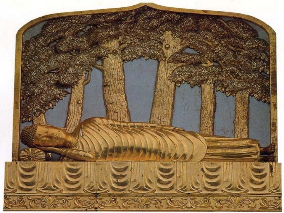 ตัวอย่าง พระพุทธเจ้าปรินิพพานใต้ต้นนาง รังทั้งคู่ ที่เมืองกุสินารา เมื่อ พระชนมายุ 80 พรรษา 2. อนุปาทิเสสนิพพาน คือ ความตายของพระ อรหันต์ เรียกอีกอย่า