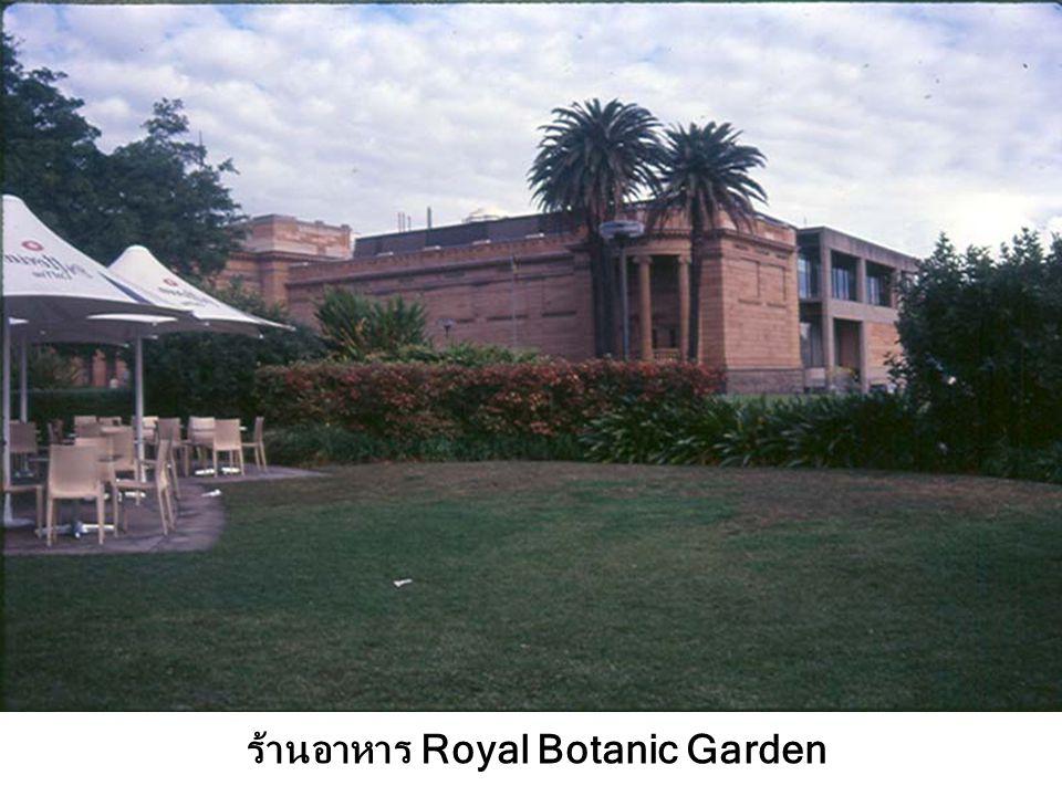 ร้านอาหาร Royal Botanic Garden