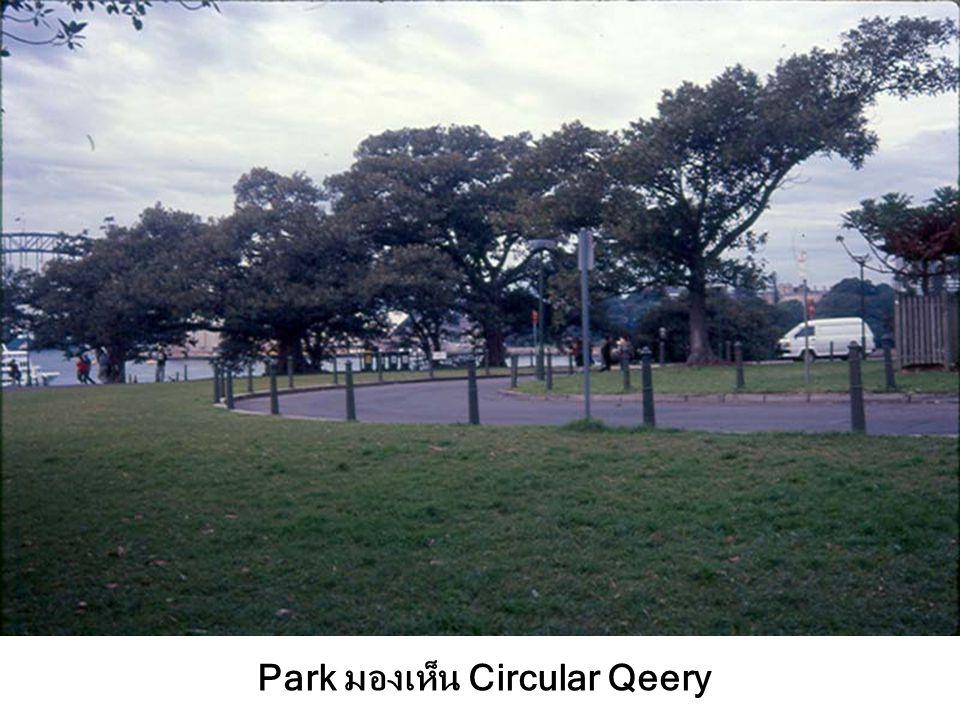 Park มองเห็น Circular Qeery