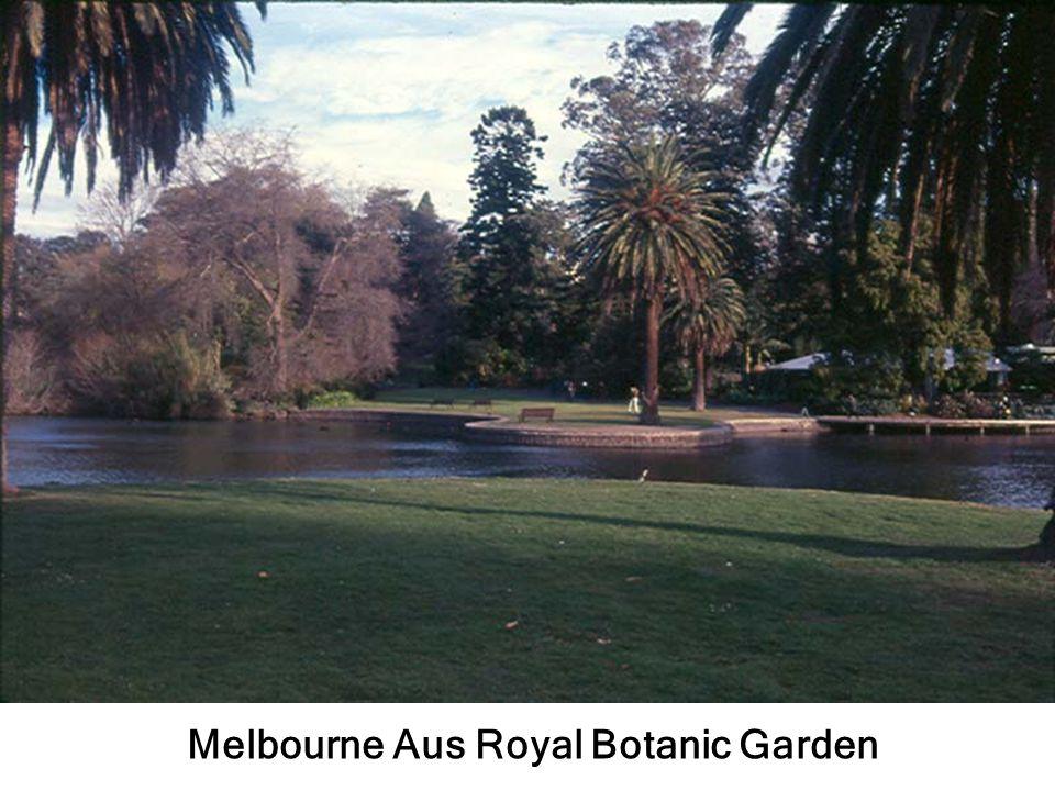 Melbourne Aus Royal Botanic Garden