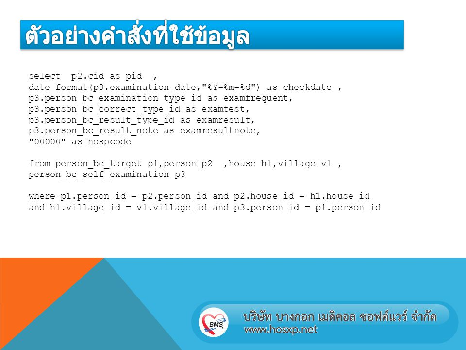 select p2.cid as pid, date_format(p3.examination_date,