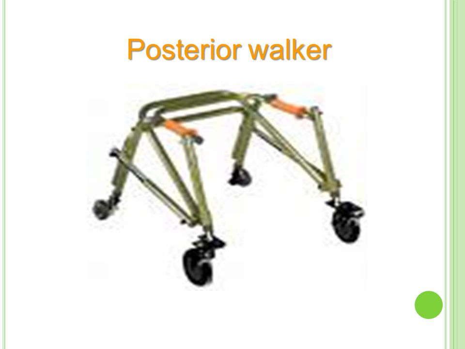 Posterior walker