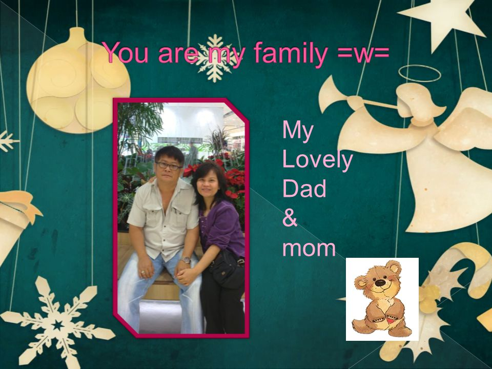 My Lovely Dad & mom