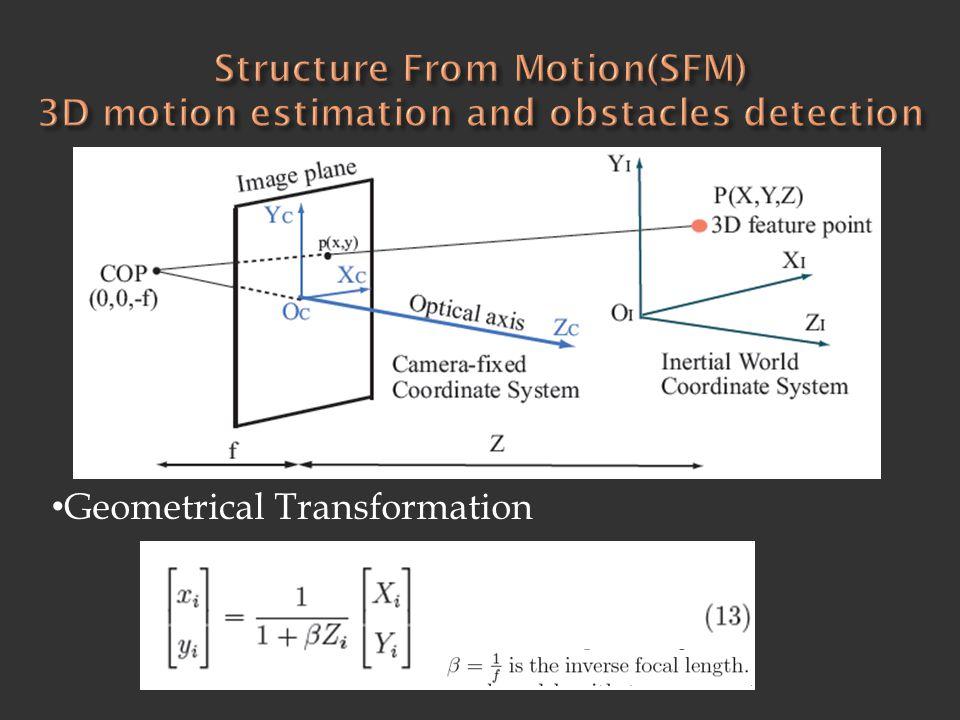 • Geometrical Transformation