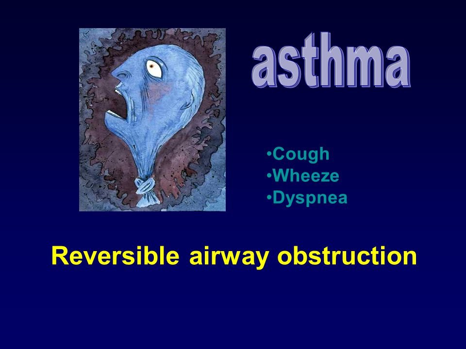 Reversible airway obstruction