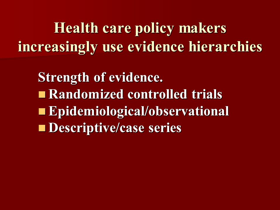 •Outcomes research has contributed to the value of health-related quality of life (or QoL) measures.