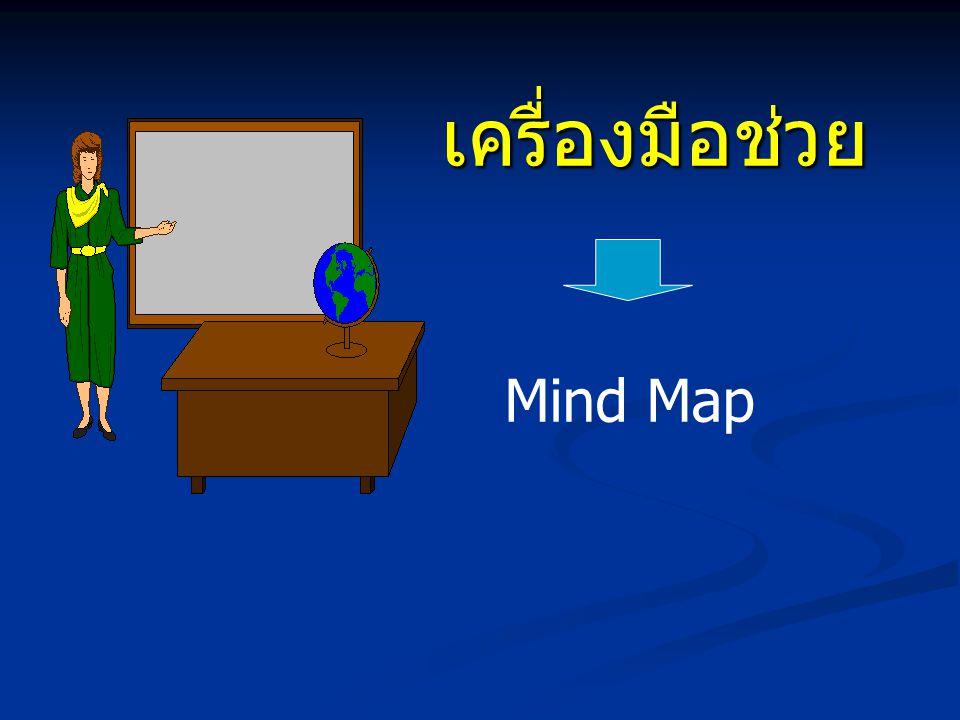 เครื่องมือช่วย เครื่องมือช่วย Mind Map