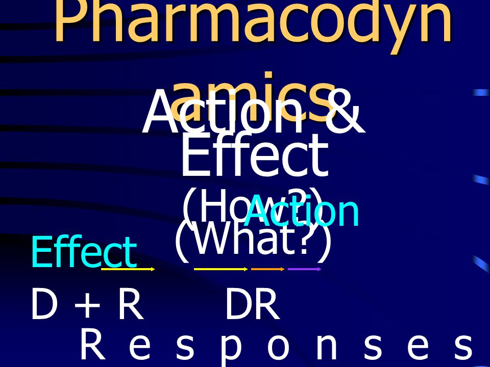 Drug-Receptor Interactions (Molecular level) Affinity vs.