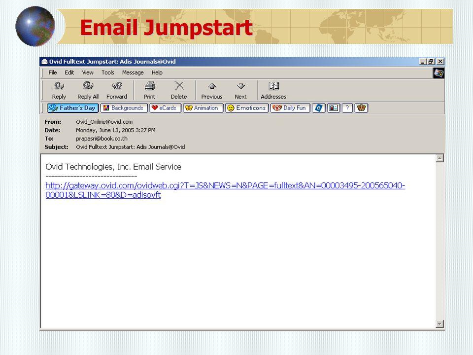 Email Jumpstart