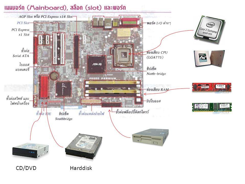 CD/DVD Harddisk