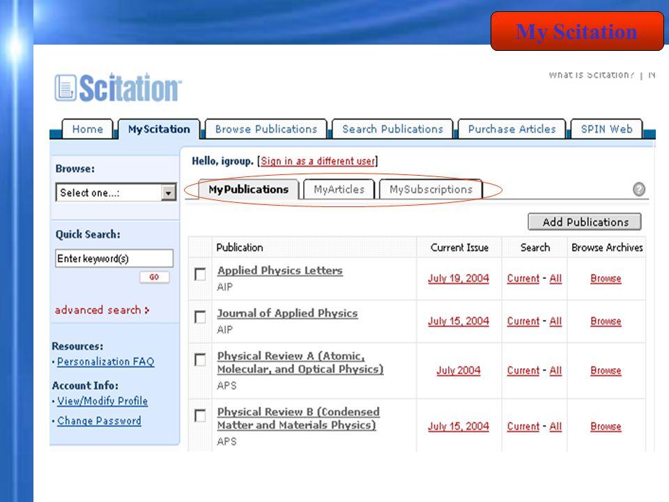 1. คลิกเลือกรายการที่ต้องการ 2. เลือก Add to : myArticles My Article 1 2
