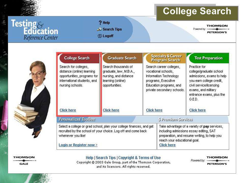 College Search
