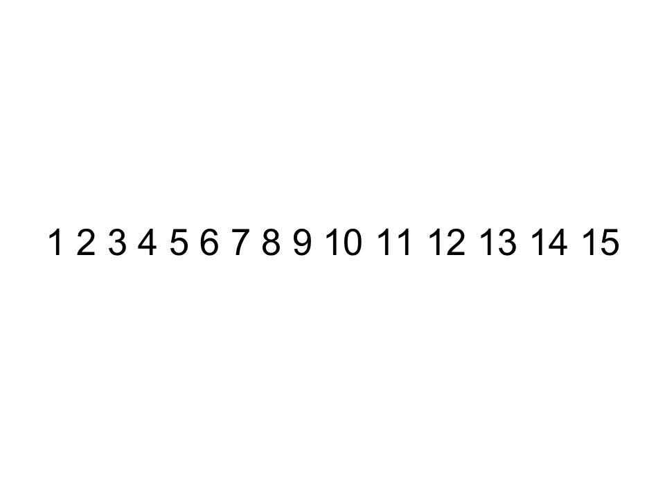 1 2 3 4 5 6 7 8 9 10 11 12 13 14 15