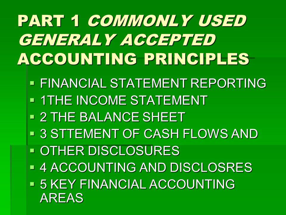 PART 2 ANALYZING FINANCIAL STATEMENT  6 FINANCIAL STATEMENT ANALYSIS