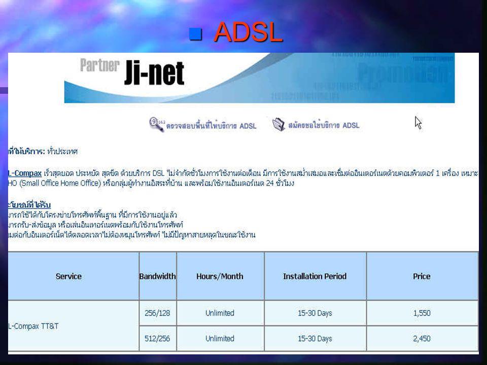  ADSL Provider