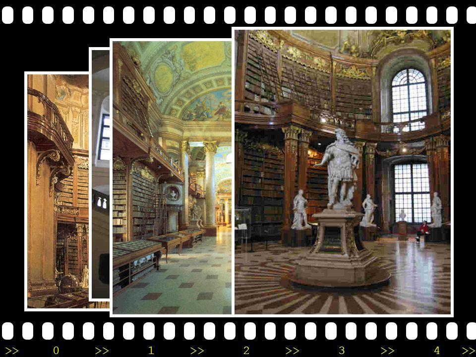 National Library of Austria •V•Vienna, Austria •ต•ตั้งอยู่ ณ พระราชวัง Holfburg •เ•เป็นห้องสมุดที่ใหญ่ ที่สุดในออสเตรีย •ก•ก่อตั้งมาตั้งแต่ยุค กลาง (