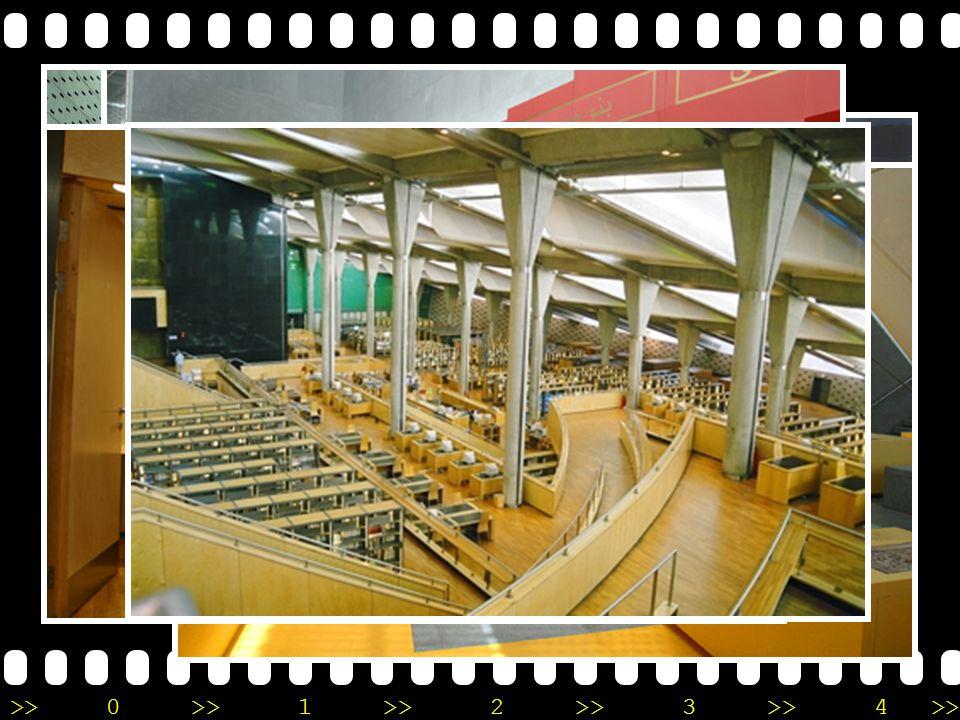 Bibliotheca Alexandrina •A•Alexandria, Egypt •เ•เกิดจากความร่วมมือ กันระหว่างรัฐบาล อียิปต์และ UNESCO •ต•ตั้งบนชายฝั่งทะเลเมดิ เตอเรเนี่ยน •ส•สร้างเพื