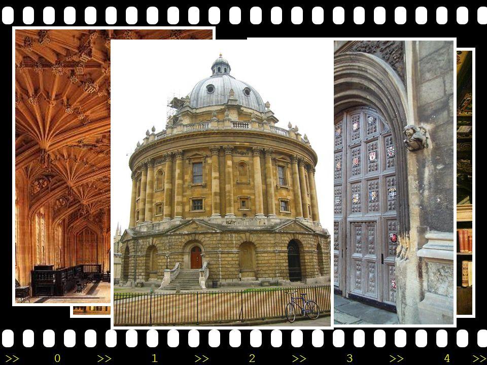 Bodleian Library •O•Oxford, England •เ•เป็นห้องสมุดที่เก่าแก่ ที่สุดแห่งหนึ่งของ ยุโรป และใหญ่เป็น อันดับ 2 ของอังกฤษ รองจาก British Library เท่านั้น