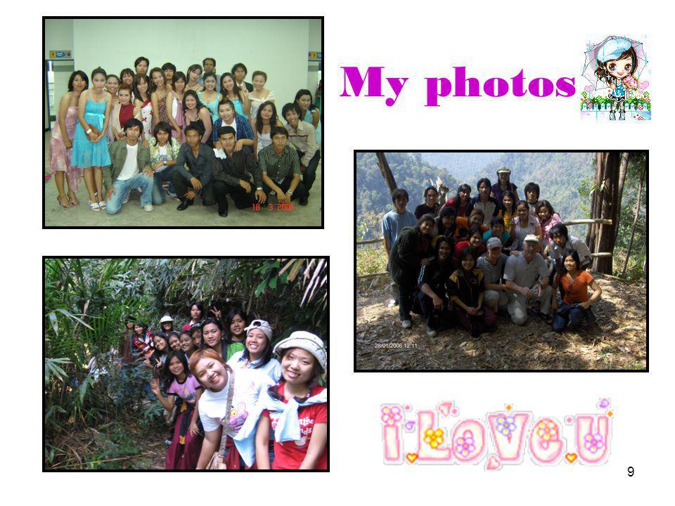 9 My photos