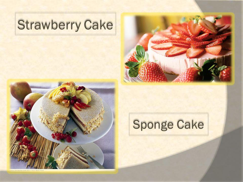 Strawberry Cake Sponge Cake