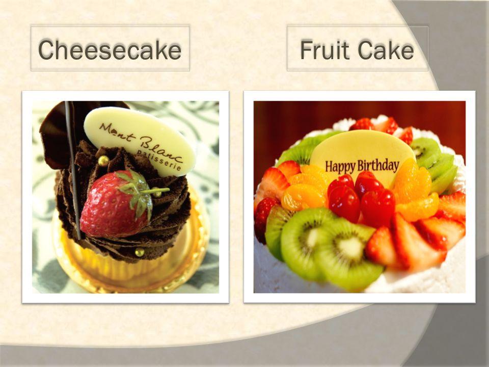 Cheesecake Fruit Cake