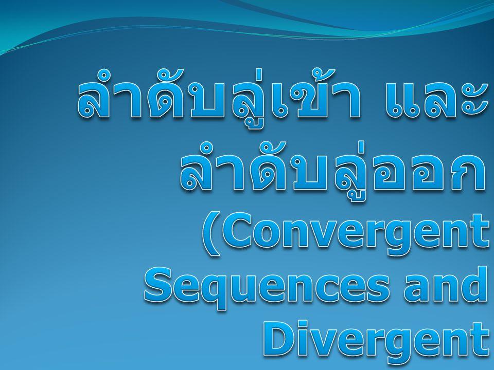 บทกลับของทฤษฎีบท 3.2.9 ไม่จริง เพราะลำดับที่มีขอบเขต ไม่จำเป็นต้องเป็น ลำดับลู่เข้า เช่น 1, –1, 1, –1,..., (– 1) n+1,...