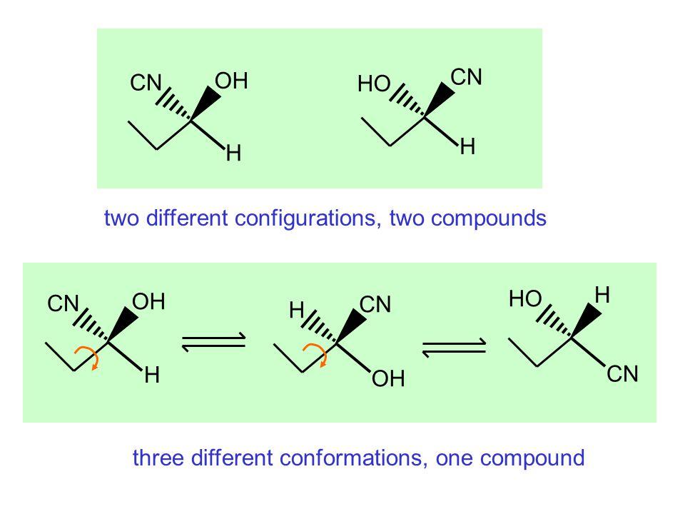 Constitutional isomers หมู่ฟังก์ชันแตกต่างกัน สายโซ่คาร์บอนต่างกัน CH 3 OCH 3 CH 3 CH 2 OH CH 3 CH 2 CH 2 CH 3 CH 3 CHCH 3 CH 3 methyl ether ethanol n