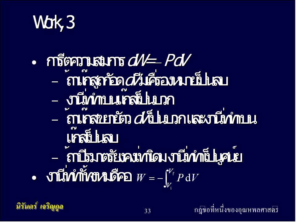 กฎข้อที่หนึ่งของอุณหพลศาสตร์ 33