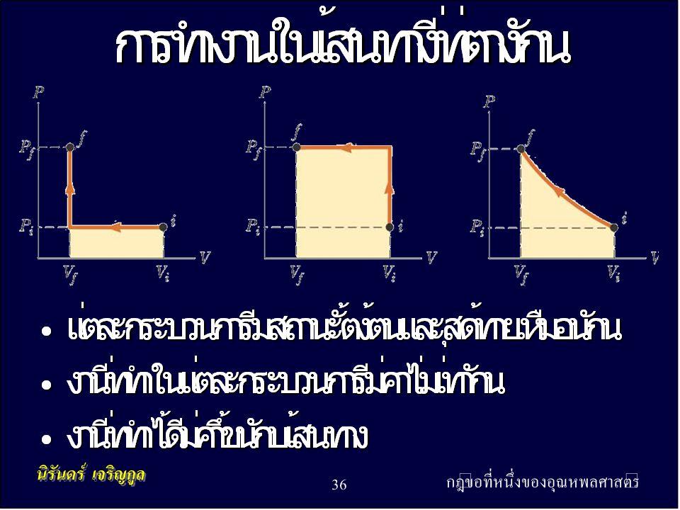 กฎข้อที่หนึ่งของอุณหพลศาสตร์ 36