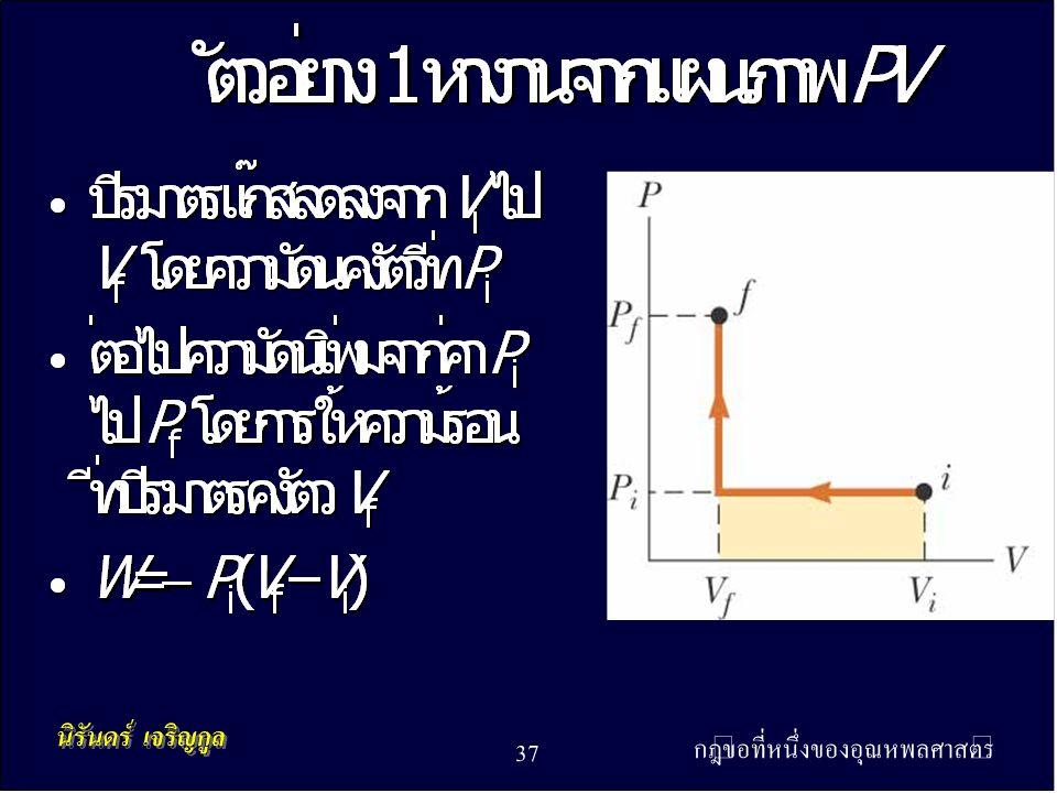 กฎข้อที่หนึ่งของอุณหพลศาสตร์ 37