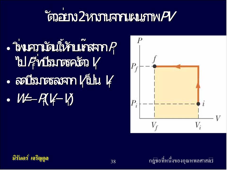 กฎข้อที่หนึ่งของอุณหพลศาสตร์ 38